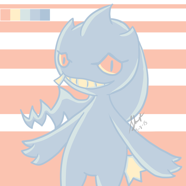Thumb color challenge 1   banette