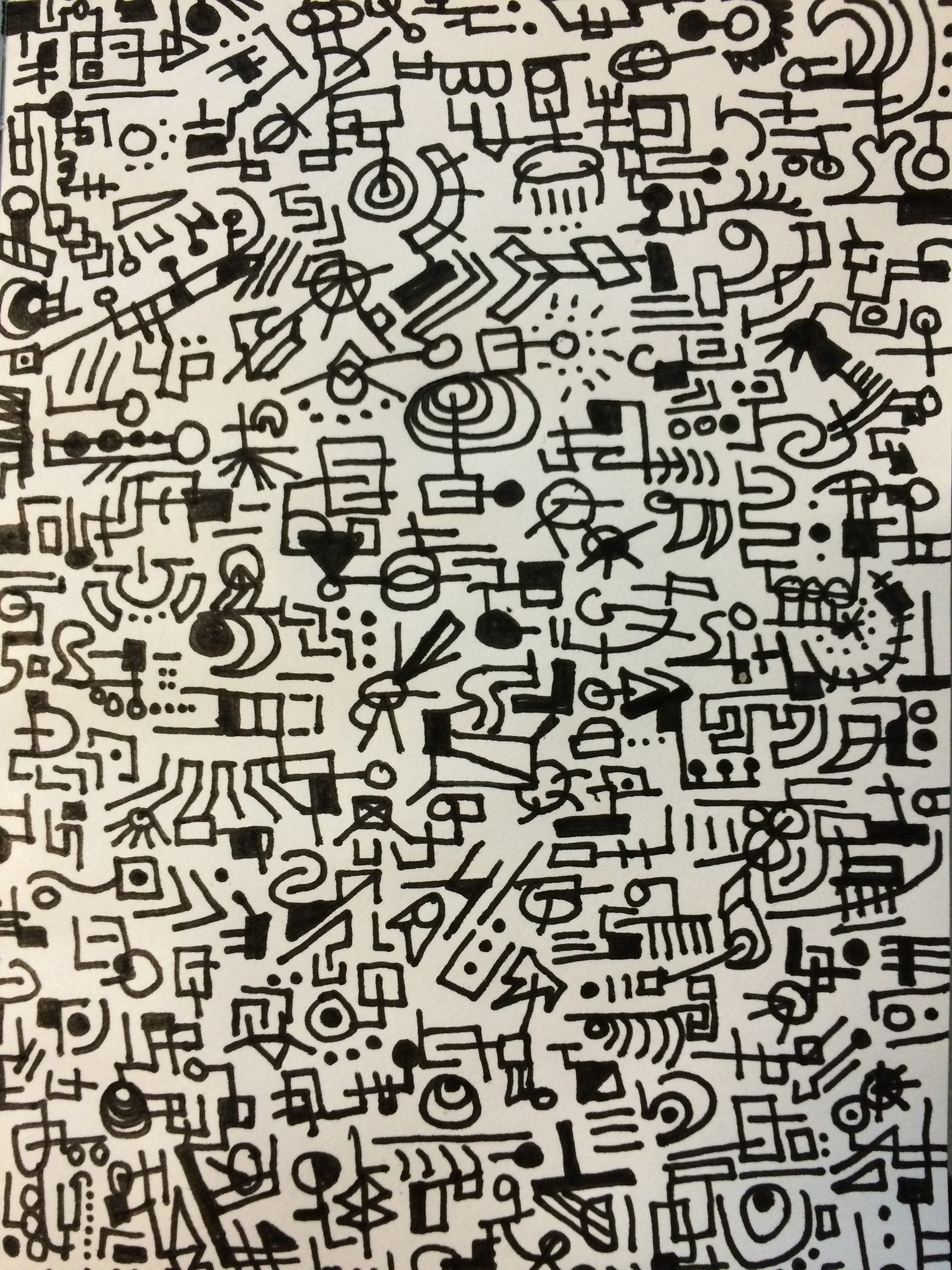 facts about doodling