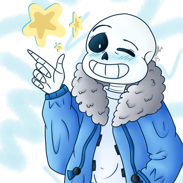 Thumb colored sans