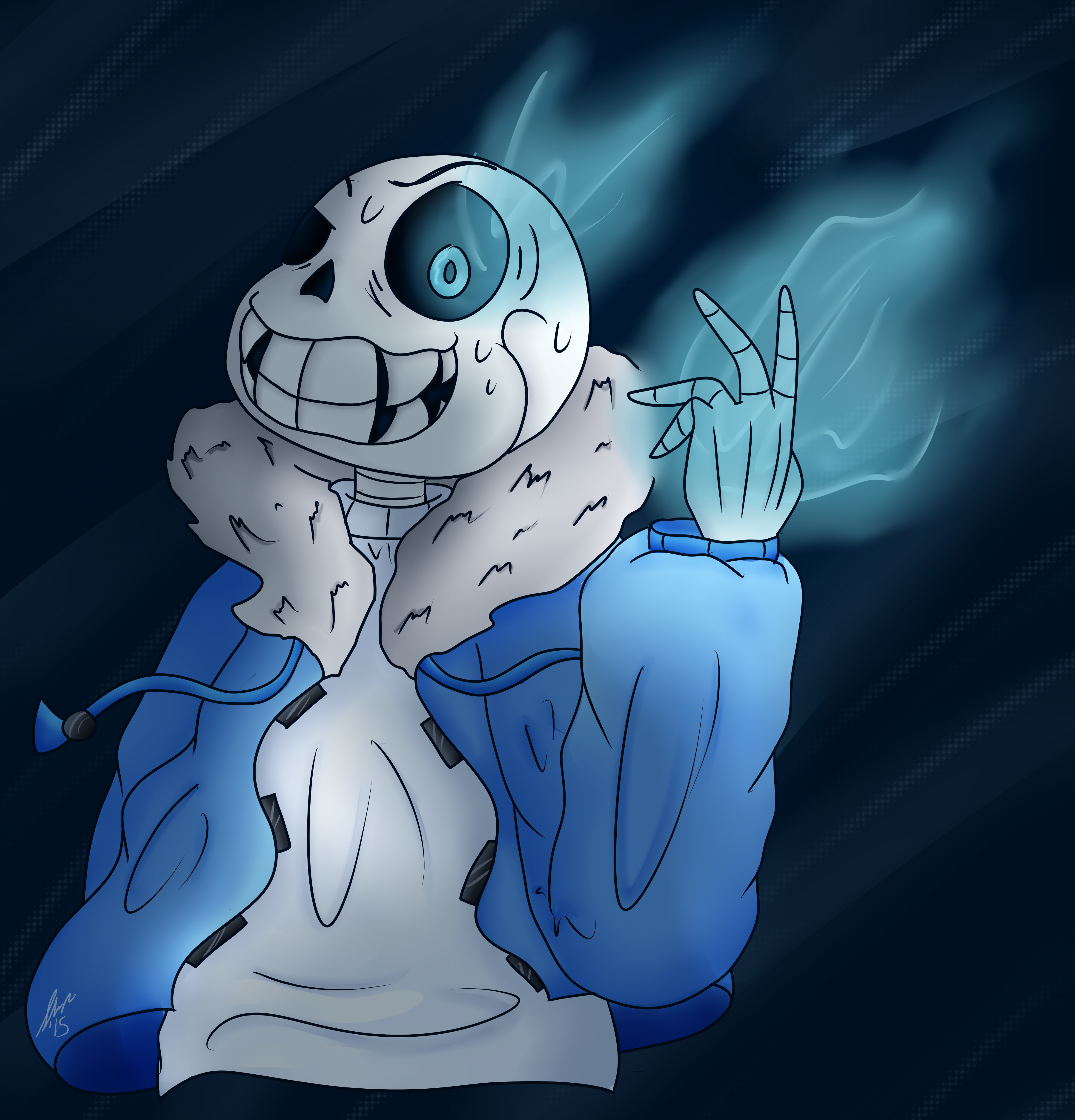 Crazy mad sans colored