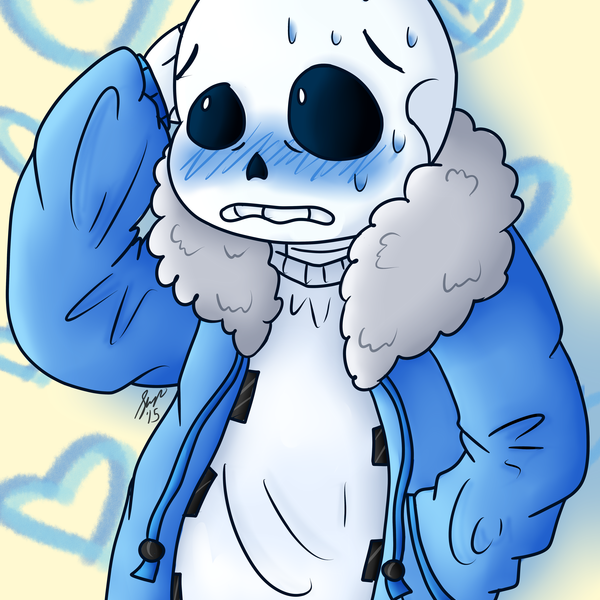 Thumb blushing sans colored