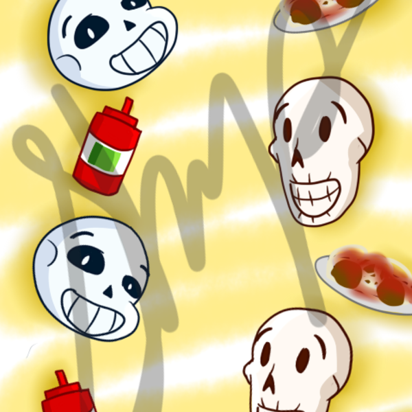 Thumb sans and papy cell backround sample