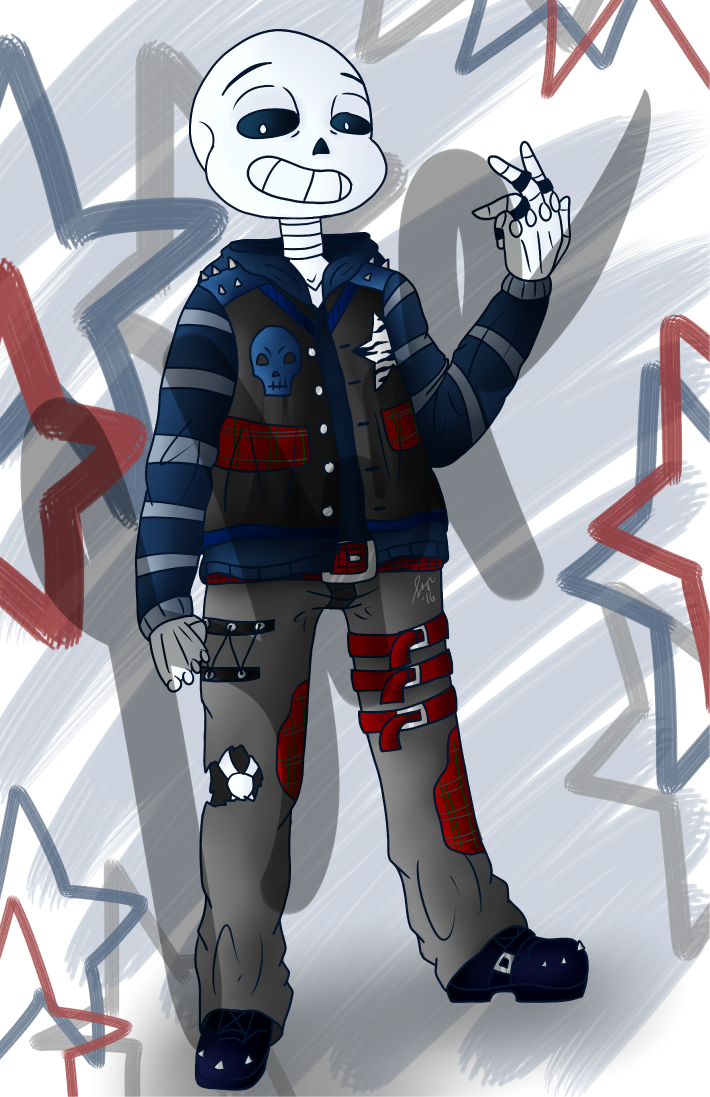 Punk sans sample