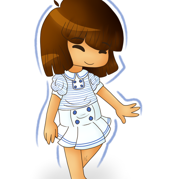 Thumb frisk clothes 2a