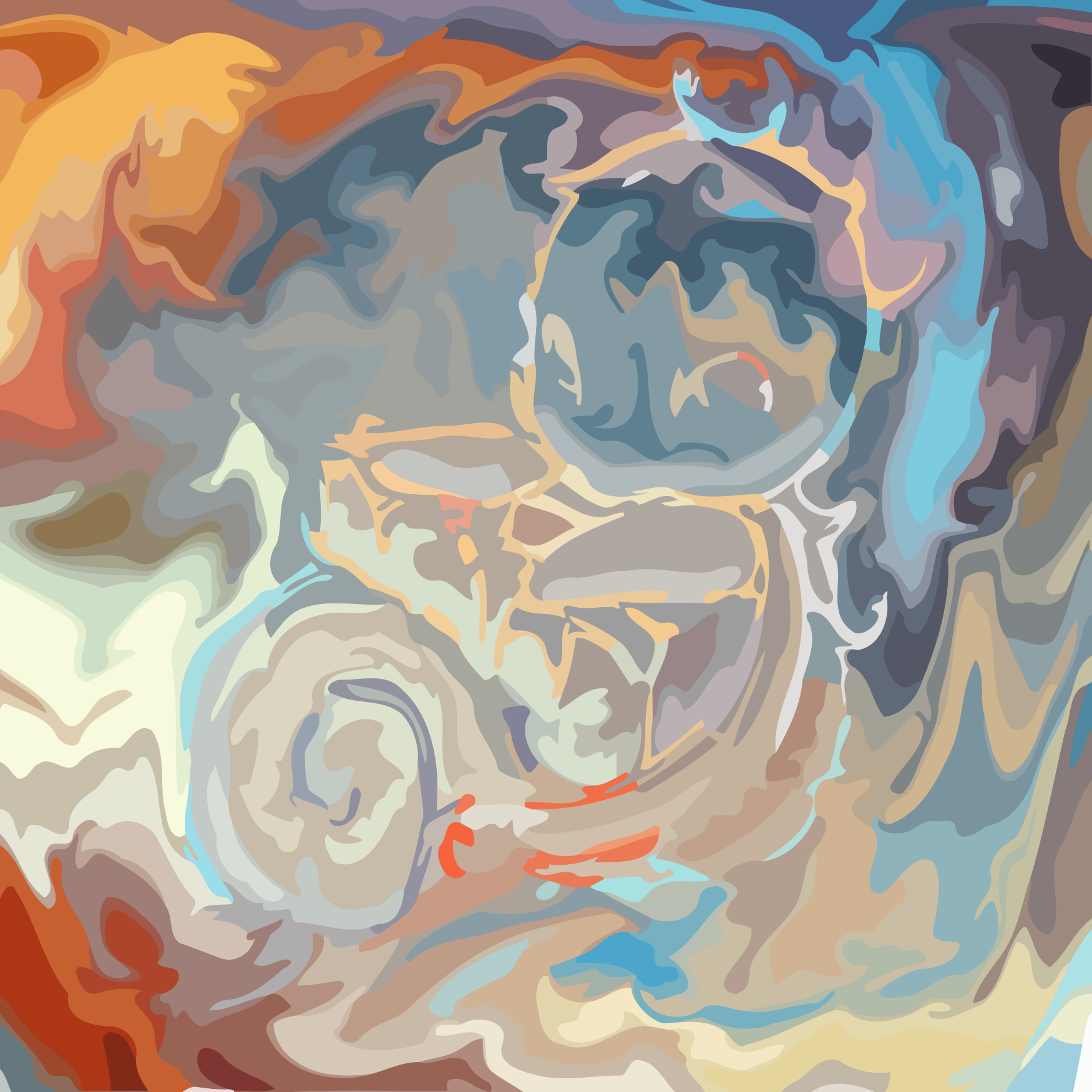 Squirtle abstract