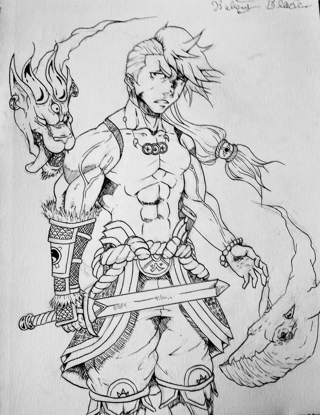 The warrior by kbloodsaw dap9dh4 1